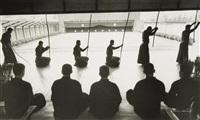 moines bouddhistes. kyoto by edouard boubat