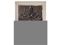 the temple of flora (bk w/1 work + original sculpture) by jim dine
