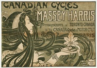 canadian cycles - massey harris by e. celos