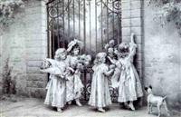la visite des petites filles by lionel peraux