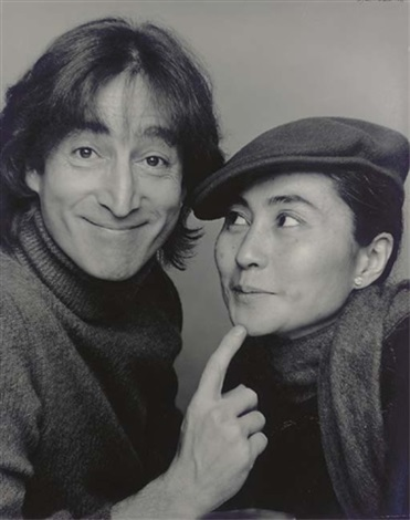 john and yoko by jack mitchell