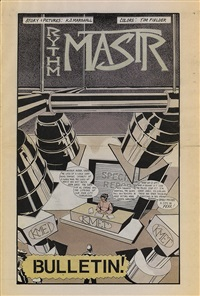 three issues of rythm mastr (5 works) by kerry james marshall
