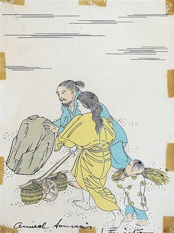 famille japonaise by léonard tsuguharu foujita