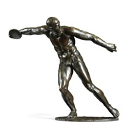 a discus thrower by marcel homs