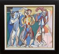 untitled 61 (trio) by john f. leonard