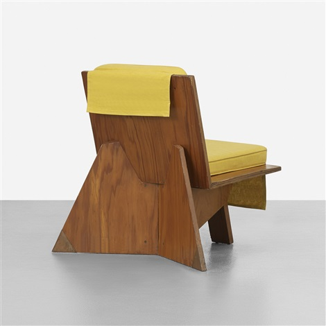 Lounge Chair From The Stanley Rosenbaum House, Florence, Alabama By Frank  Lloyd Wright