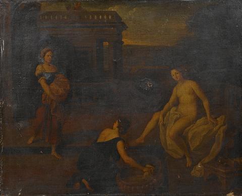 bathsheba bathing by charles alphonse dufresnoy