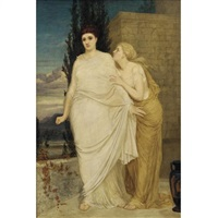 antigone and ismene by thomas armstrong