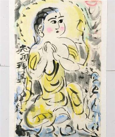 bodhisattva by shiko munakata
