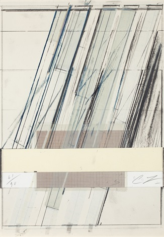 untitled from homage a picasso by cy twombly
