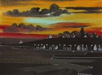west town tory at sunset by patsy dan rodgers