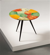 occasional table by aldo tura