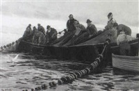pulling in the nets by john mallord bromley