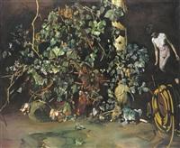 nude and plants by tibor csernus