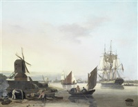 on the lower thames by george webster