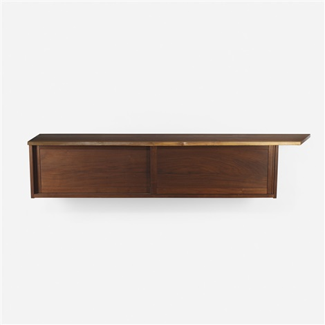 wall mounted cabinet by george nakashima