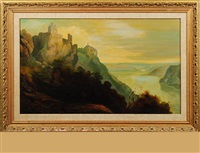 hudson river landscape by paul ritter