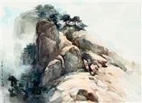 黄山光明顶 by luo zonghai