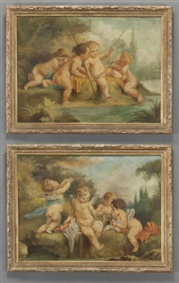 three cherubs (pair) by anonymous (19)