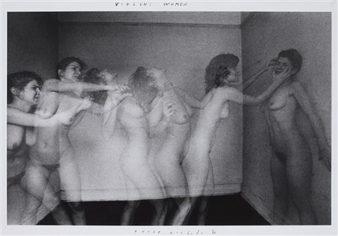 violent women by duane michals