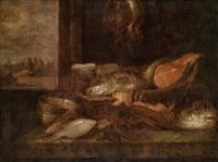 fischstillleben by abraham van beyeren