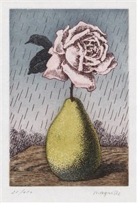 untitled (from les moyens d'existence) by rené magritte