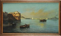 la baie de naples by vincent ambrosini