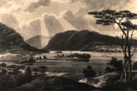 view from fishkill looking to west point, pl.15 by john hill