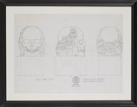 Grateful Dead At The Oakland Auditorium New Years Eve 4 Sketches By