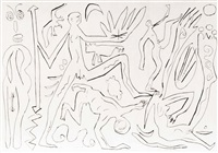 figures by a.r. penck