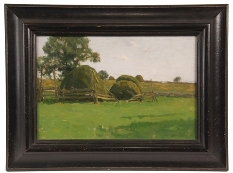 haystacks by charles warren eaton