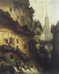 les lavandières du village by léonard saurfelt