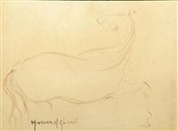 cheval au galop by hassan el glaoui