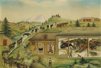 alpaufzug by anna barbara aemisegger-giezendanner
