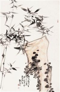 石竹图 by liu deyang