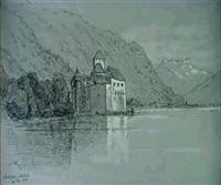 chateau de chillon by alfred koechlin-schwartz