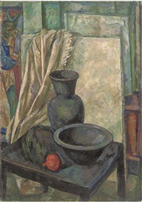 still life with black jug by iosif naumovich gurvich