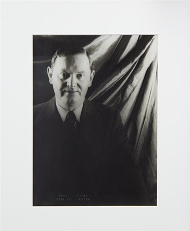 portrait of evelyn waugh by carl van vechten