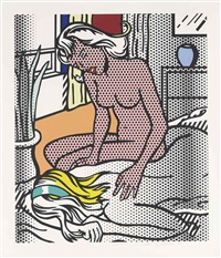 two nudes, from: nude series by roy lichtenstein
