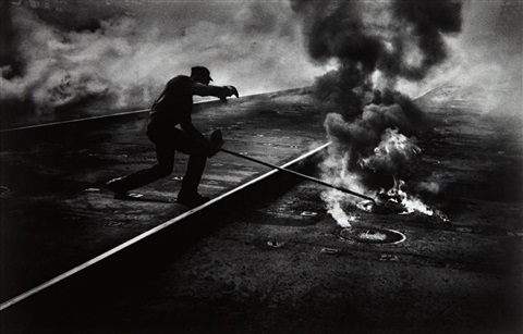 dance of the flaming coke, pittsburgh by w. eugene smith