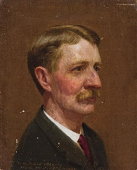 self portrait by william j. mccloskey