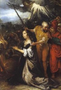 das martyrium der heiligen katharina von alexandria by barent fabritius