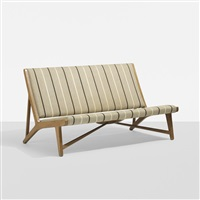 settee, model jh555 by hans j. wegner