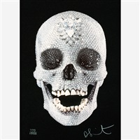 for the love of god #9 (with diamond dust) by damien hirst