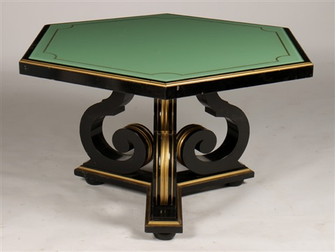 Regency Style Table By Maurice Hirsch