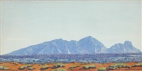 mount sonder, mcdonnell ranges by rex batterbee