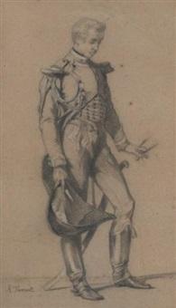 portrait présumé du duc d'aumale by thomas couture
