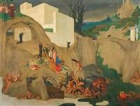 la tentation de saint antoine by luc lafnet