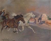 arabischer reiter by woiciech (aldabert) ritter von kossak