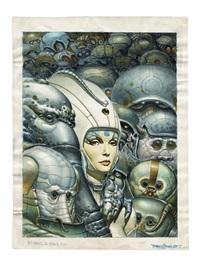 mutante, albin michel by juan giménez